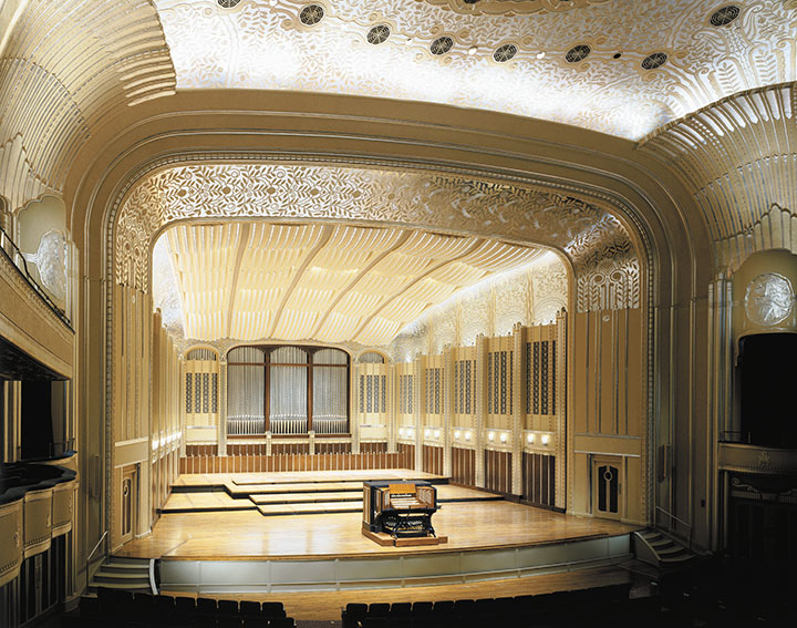 The location of the organ in Severance Hall is hugely important for its sound. Its original installation, in a cramped space above the stage, made the organ difficult to hear.